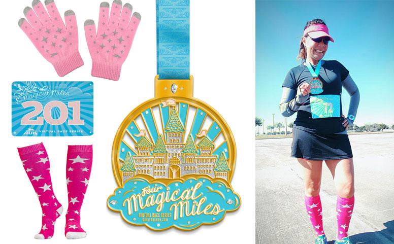 Four Magical Miles Virtual 4 Mile Race