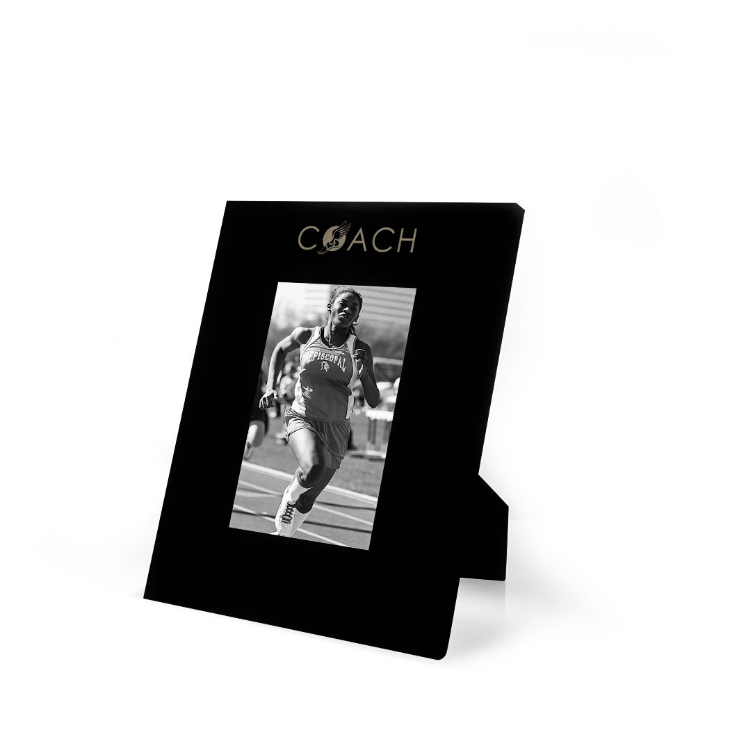 Track field engraved picture frame coach chalktalksports track field engraved picture frame coach jeuxipadfo Gallery