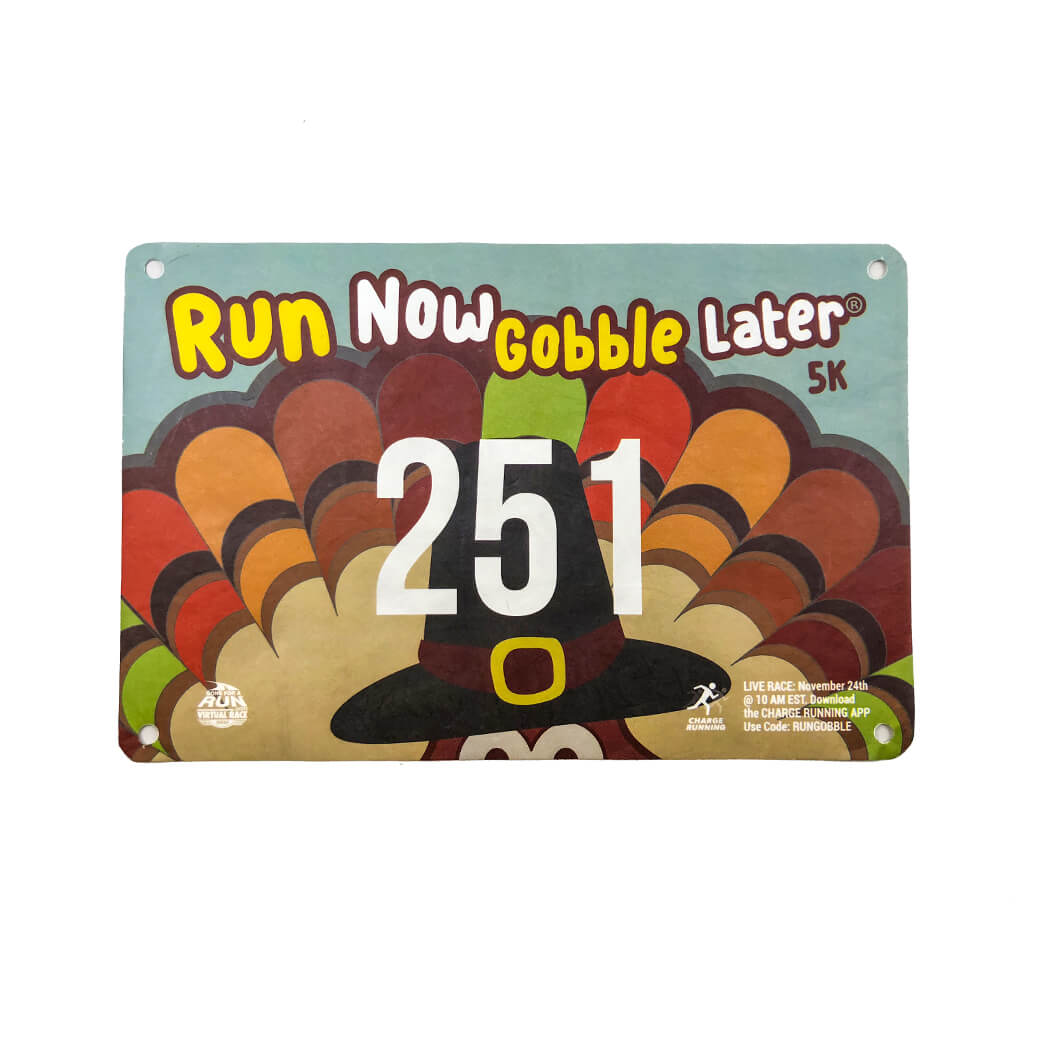 Virtual Race Run Now Gobble Later 5k 2018 Gone For A Run