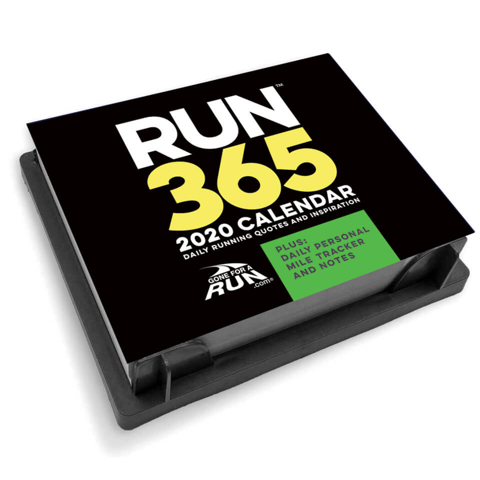 2020 Desk Calendar.Runner S 2020 Daily Desk Calendar
