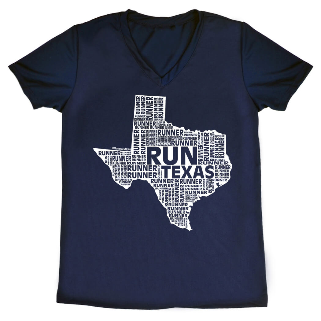 Women's Running Short Sleeve Tech Tee Texas State Runner