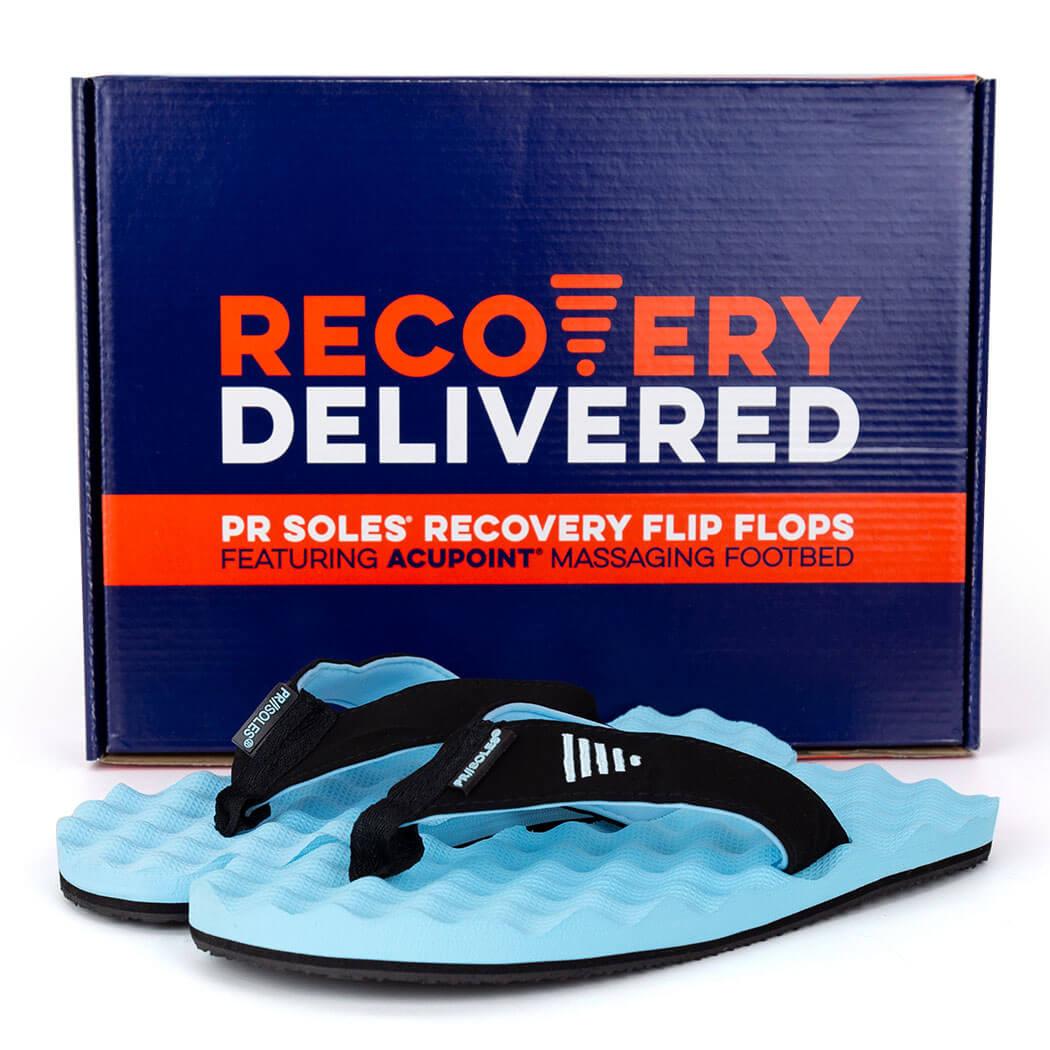 2f28d601f6d5e ... PR SOLES® Recovery Flip Flops V2 - Carolina Blue