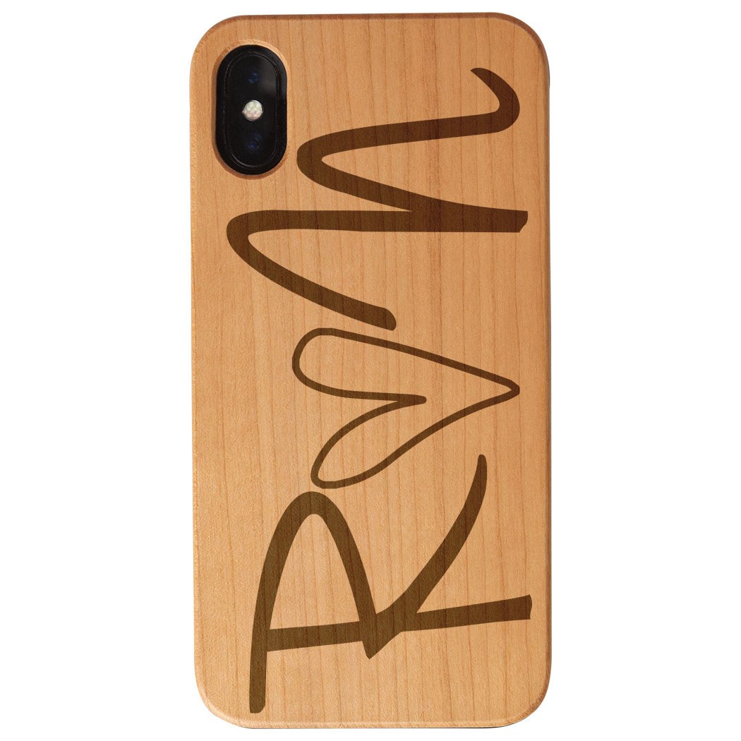 more photos d462c ae611 Running Engraved Wood IPhone® Case - Run Heart