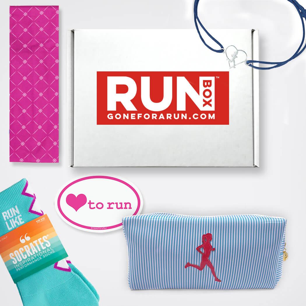 RUNBOX™ Gift Set - Run Like a Girl