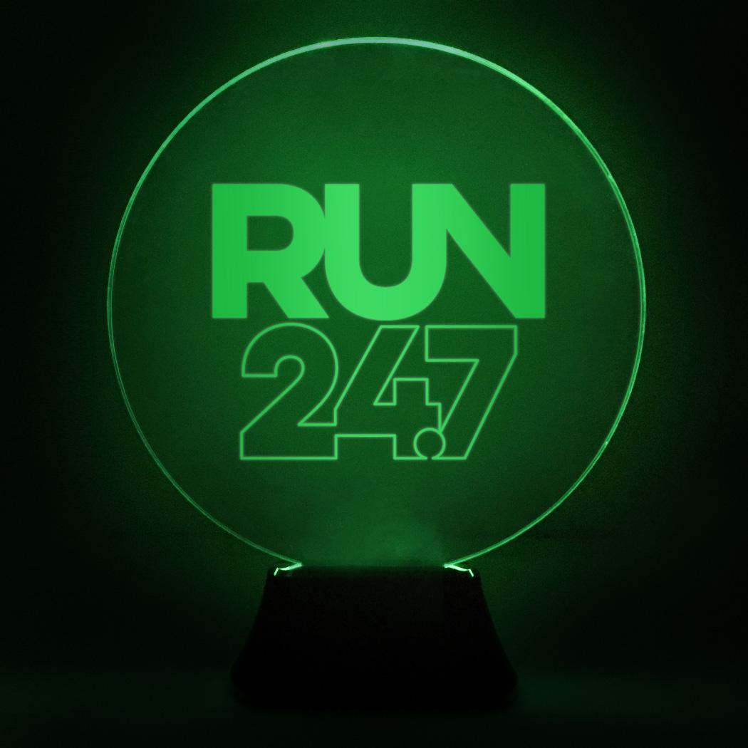 7 24 Lamp Led Running Run Acrylic Nn08vOmw