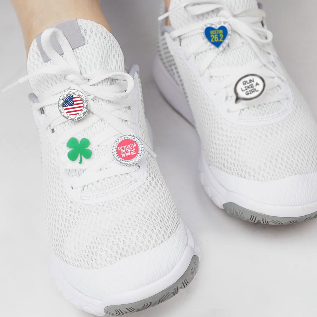 Race Bling Running Shoe Charm