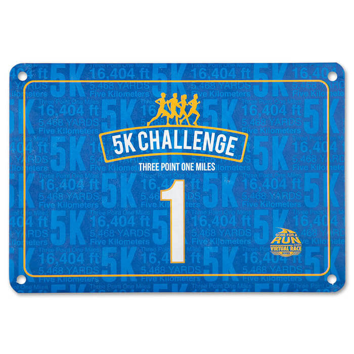 Authentic Race Bib