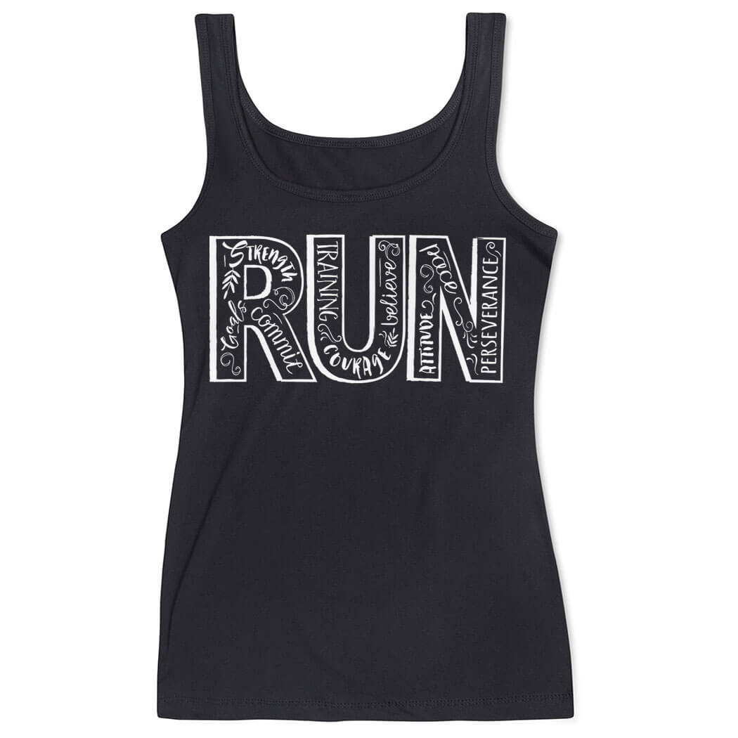 4855e3f51d3fee Women s Athletic Tank Top Run With Inspiration Click to Enlarge