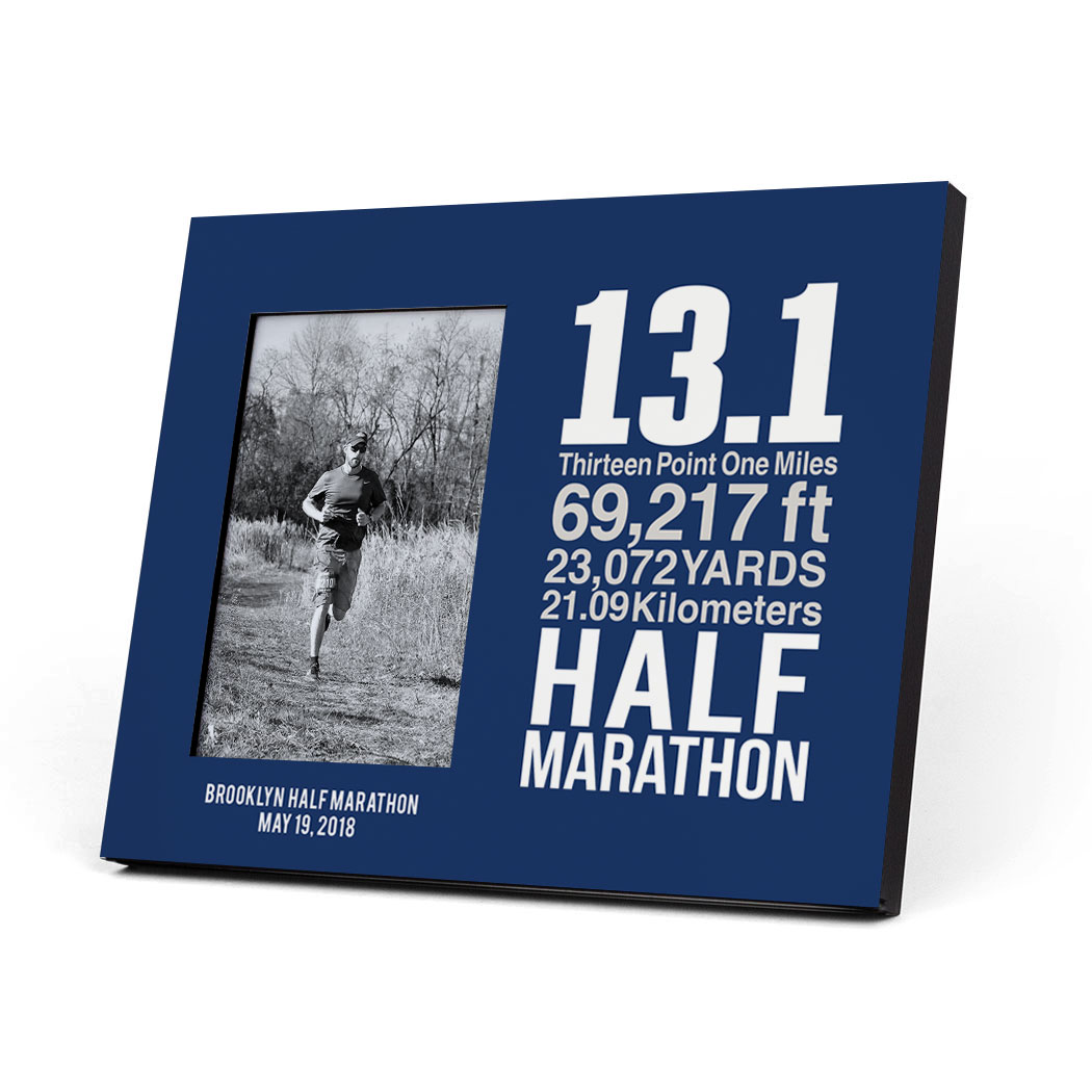Running Photo Frame - 13.1 Math Miles