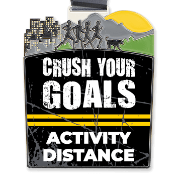 Virtual Race - Crush Your Goals Custom Activity & Distance (2020)
