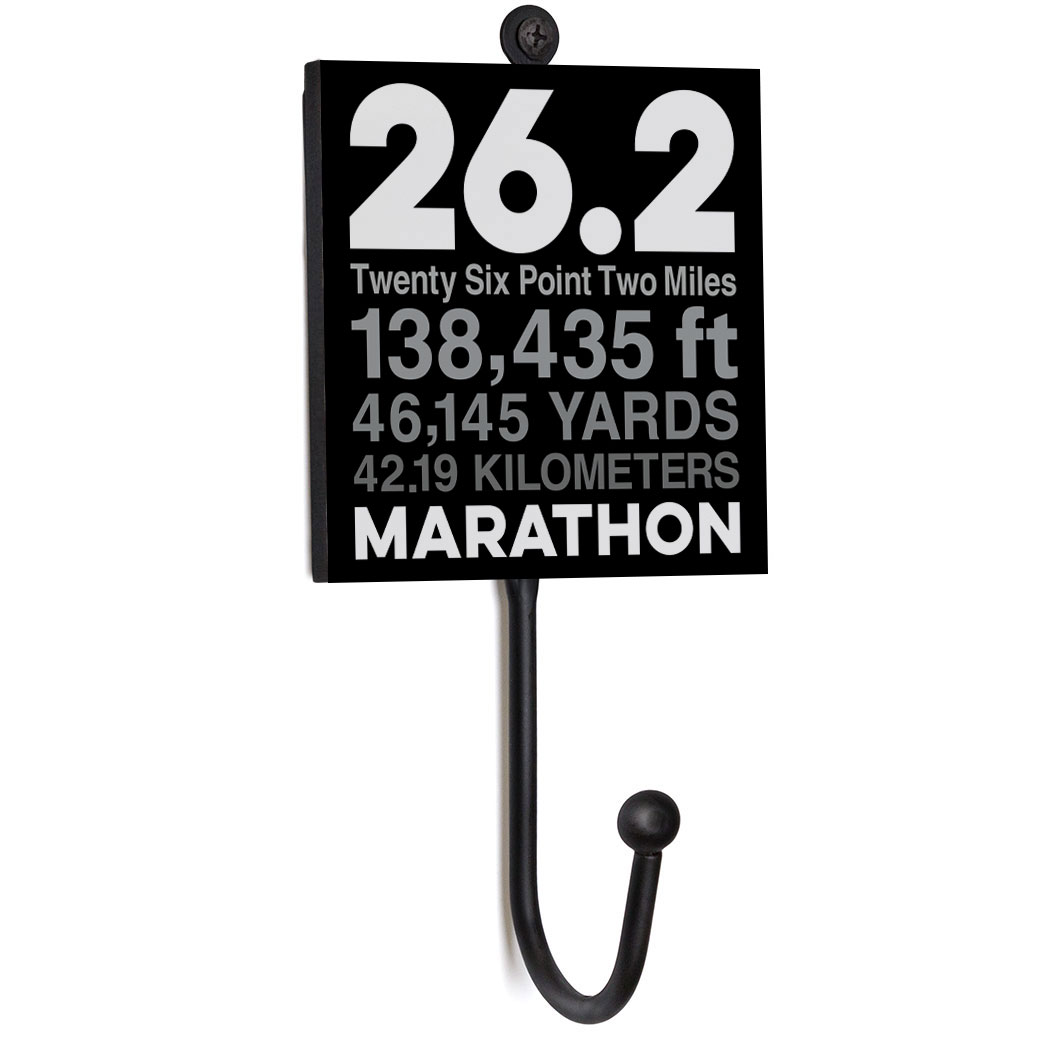 Running Medal Hook - 26.2 Math Miles