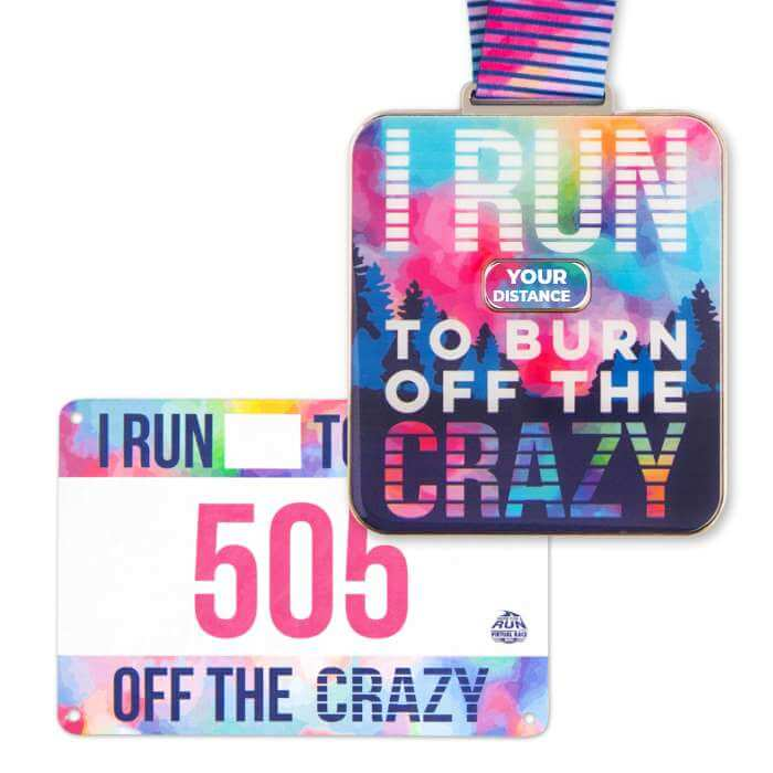 Authentic Race Medal & Bib