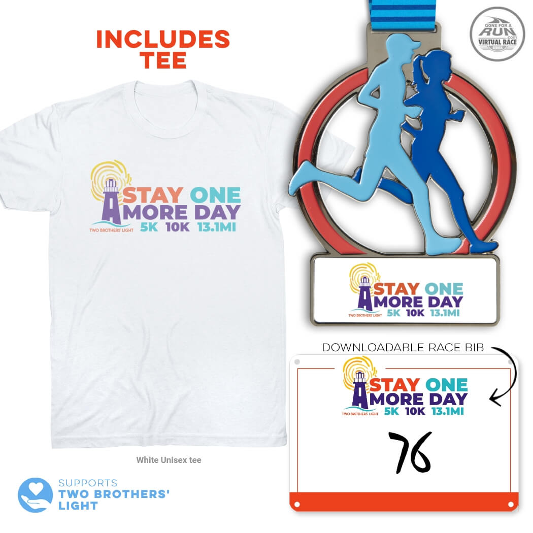 Virtual Race - Stay One More Day 5K/10K/13.1 (2020)
