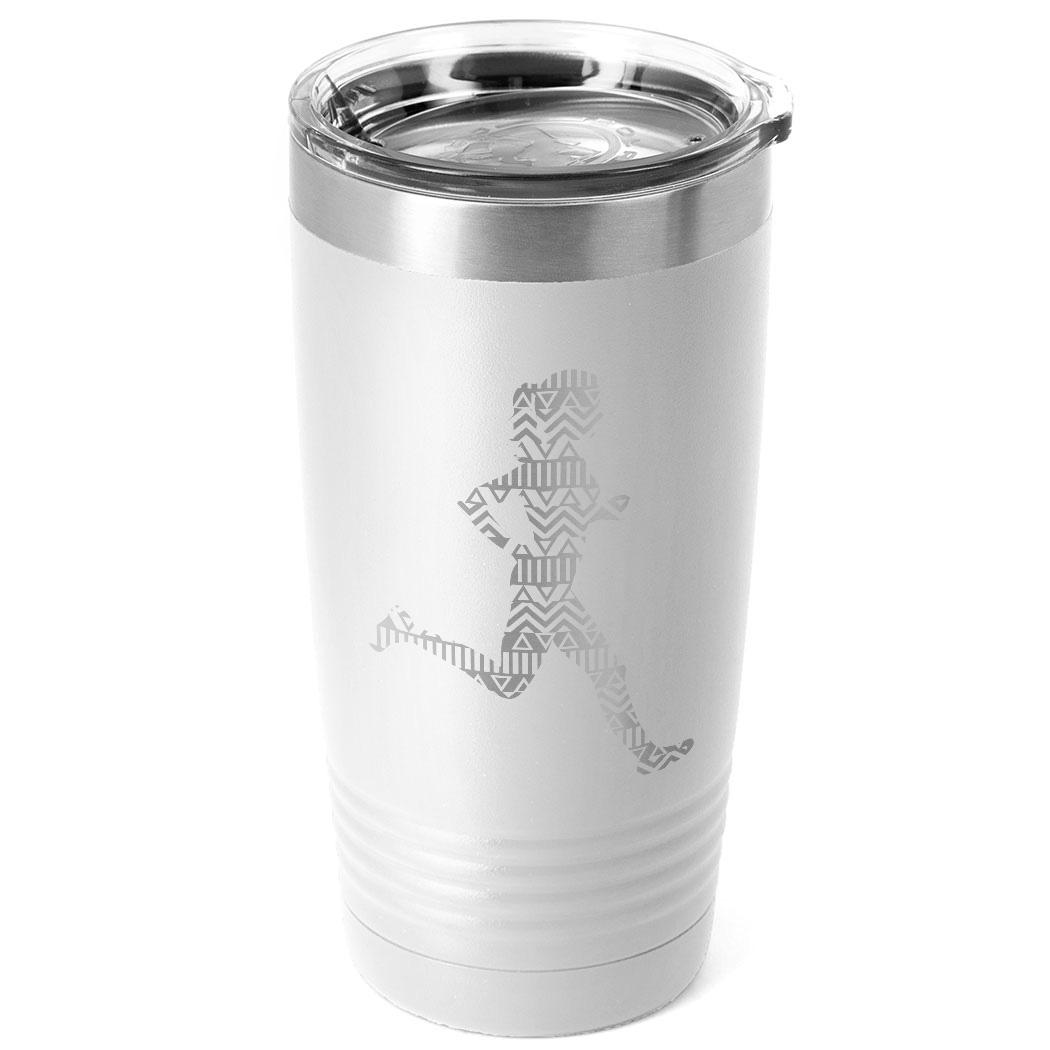 Running 20 oz. Double Insulated Tumbler - Aztec Runner