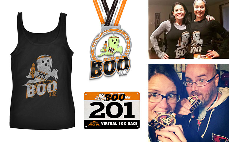 Faster Than Boo Virtual 10K