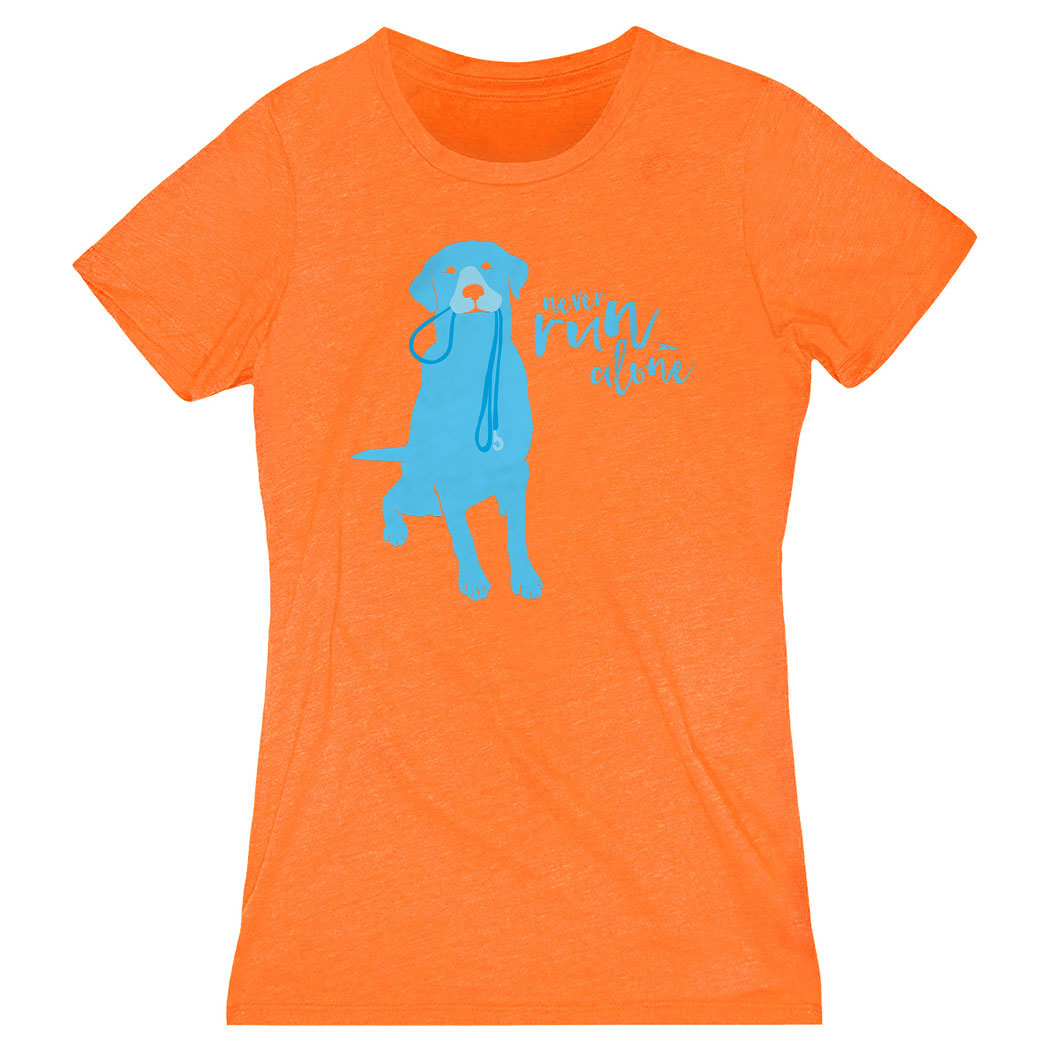 Women's Everyday Tee Never Run Alone