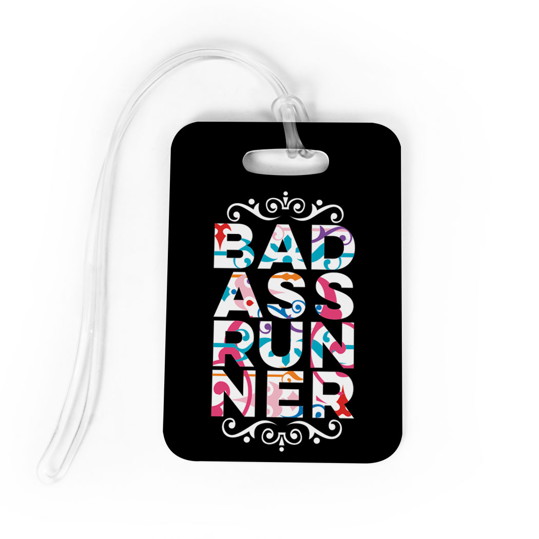 Running Bag/Luggage Tag - Bad Ass Runner