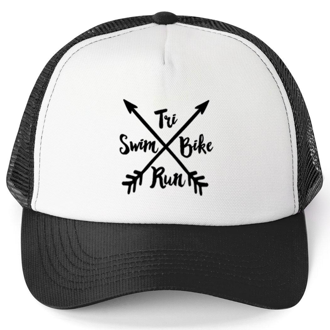 bdf489544f2 Triathlon Trucker Hat - Crossed Arrows Click to Enlarge