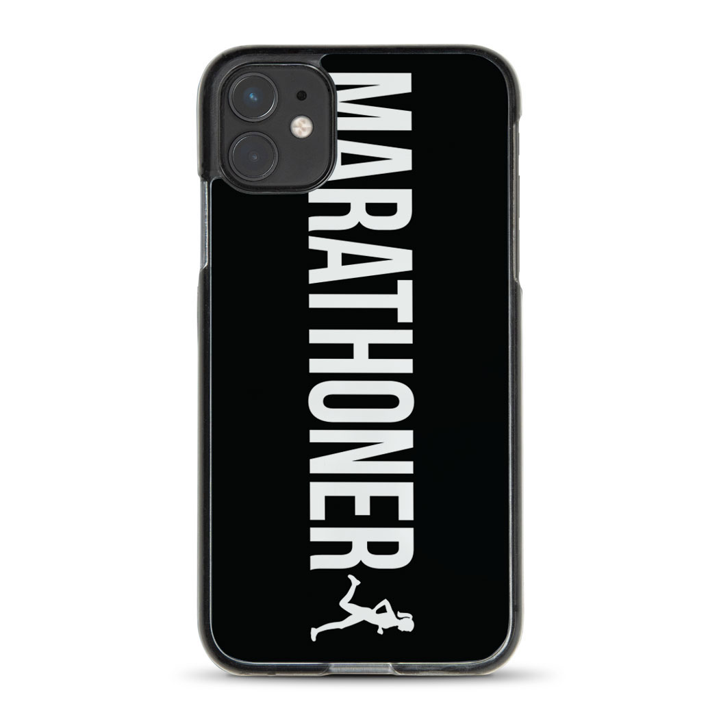 Running iPhone® Case - Marathoner Girl
