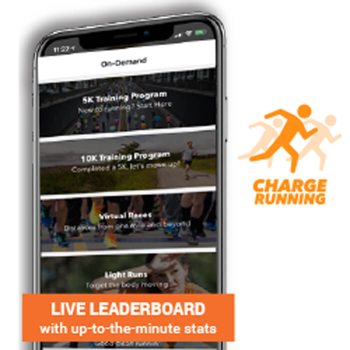 Free Access to the Live Race with the Charge App