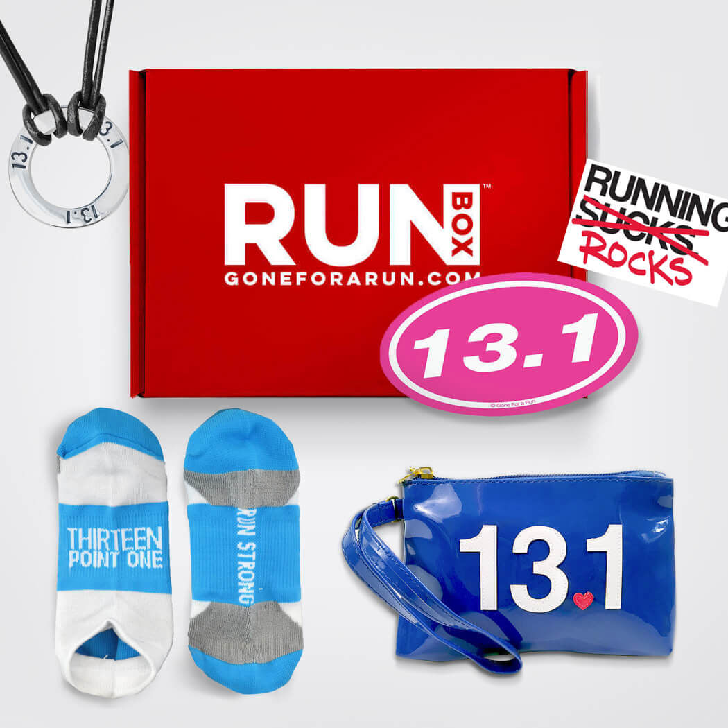 RUNBOX™ Gift Set - Half Marathon Girl