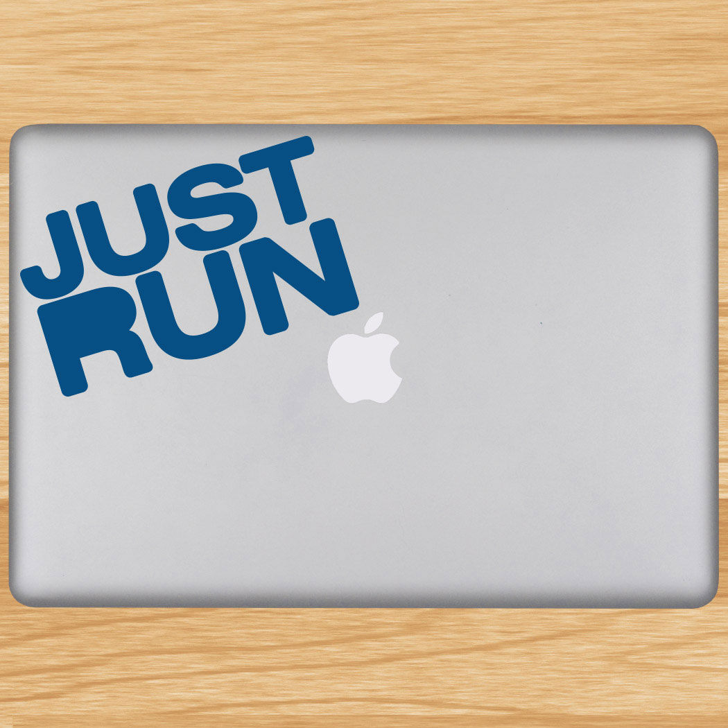 Just run removable goneforarungraphix laptop decal click to enlarge
