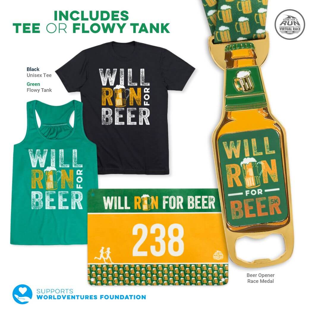 Virtual Race - Will Run For Beer 5K (2021)