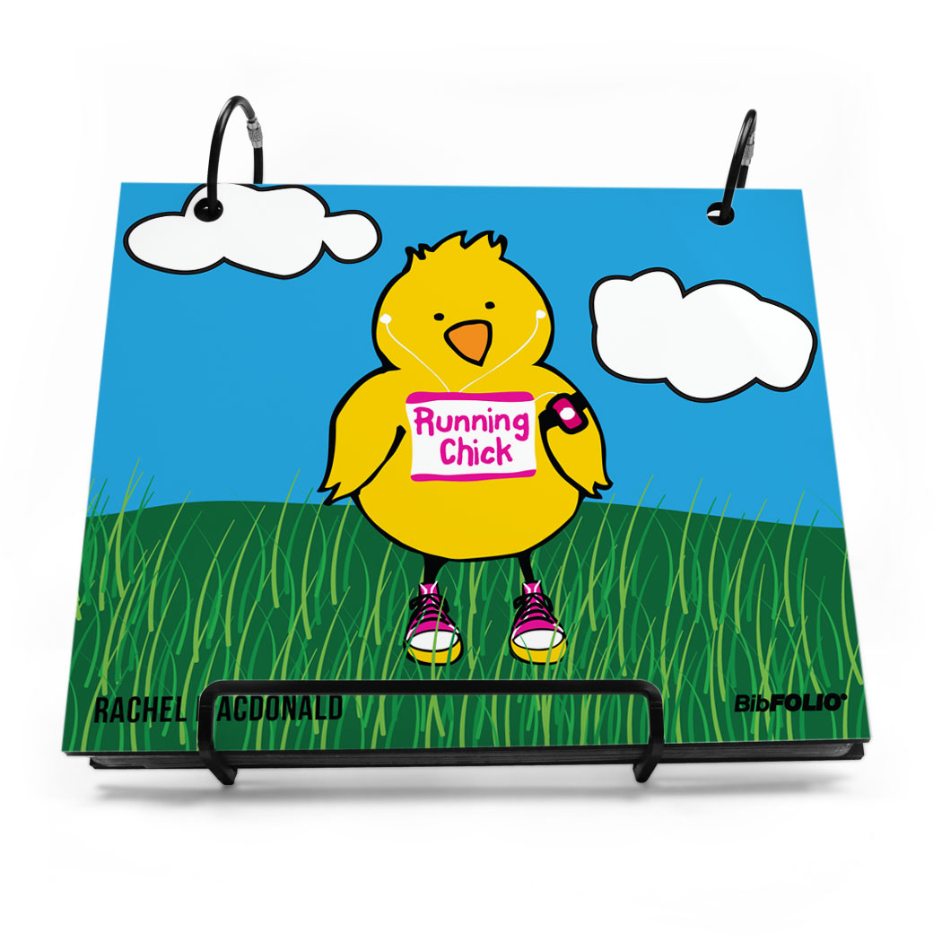 Easter gifts gone for a run bibfolio race bib album running chick negle Choice Image