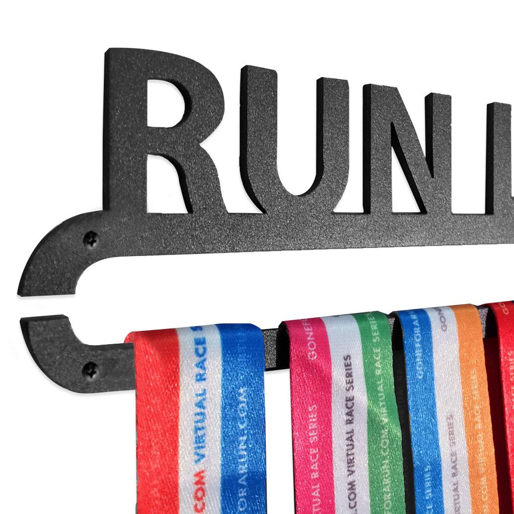 Runners Race Medal Hanger Gone For a Run Runner Girl