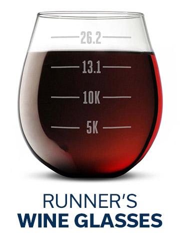 Runner's Wine Glasses