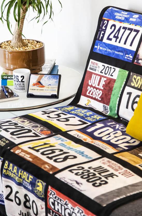 Shop our Race Bib Premium Blanket