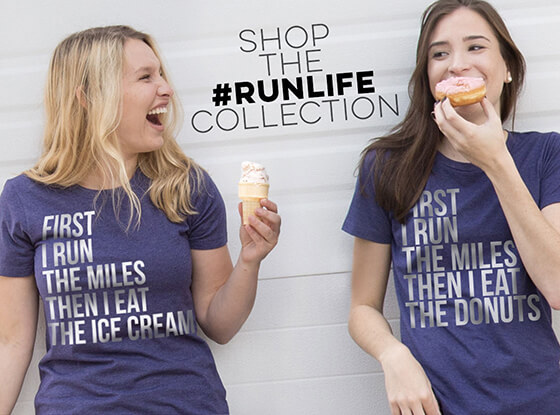 Shop #runlife Collection
