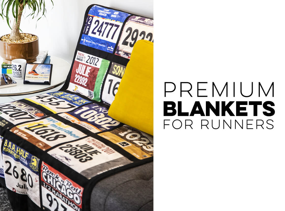 Turn your Race Bib(s) into a Blanket