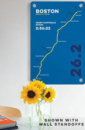 Shop our Marathon Maps Aluminum Room Signs