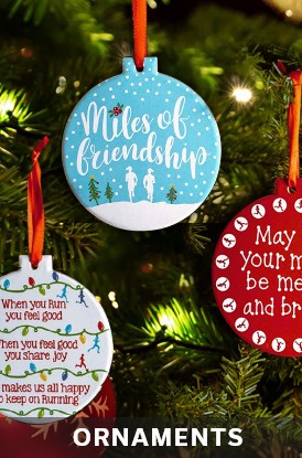 Shop Our Ornaments for Runners