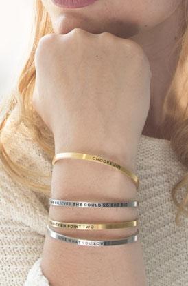 Shop Inspire Me Cuff Bracelets
