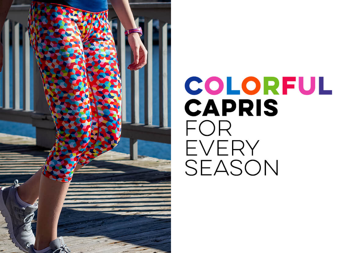 Shop Our Running Capris