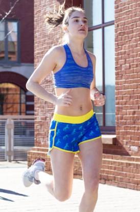 Shop Our Boston Run With Unicorns Shorts