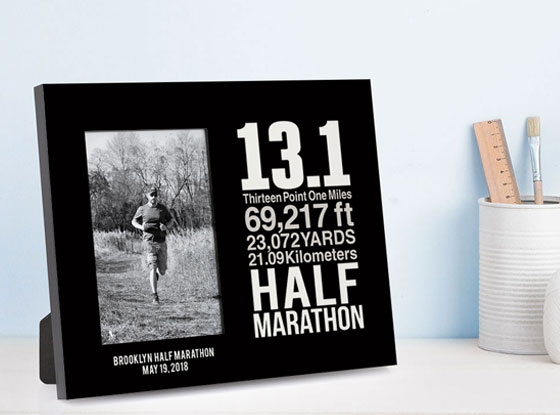 Shop Our Half Marathon Math Miles Photo Frame