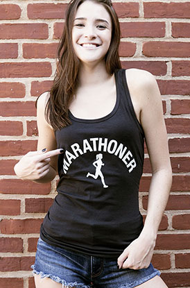 #runlife Marathoner Tank Top
