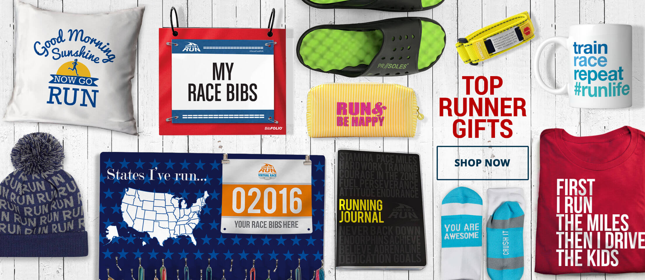 Top Runner gifts