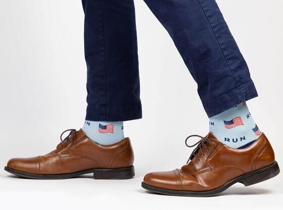 Mens Dress Socks for Runners