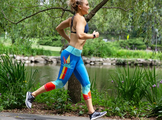 Shop Our New York Capris for Runners