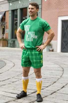 Male Wearing St. Paddy's Day Outfit