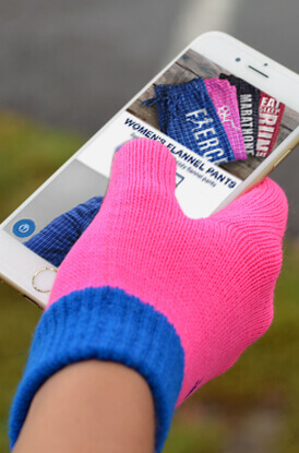 Shop Our Touch Screen Gloves