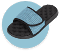 PR Sole Adjustable Slide Sandals