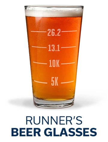 Runner's Beer Glasses