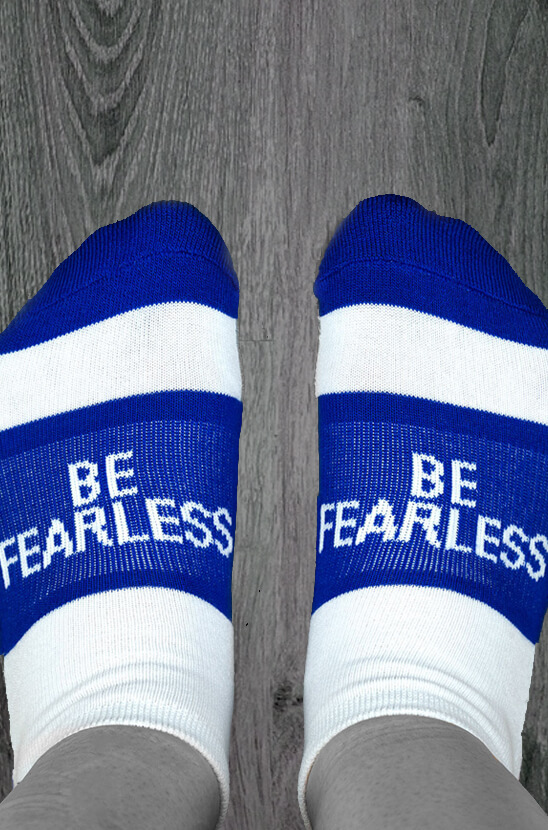 Be Fearless Socrates Socks