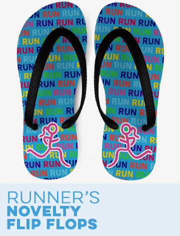 Running Novelty Flip Flops