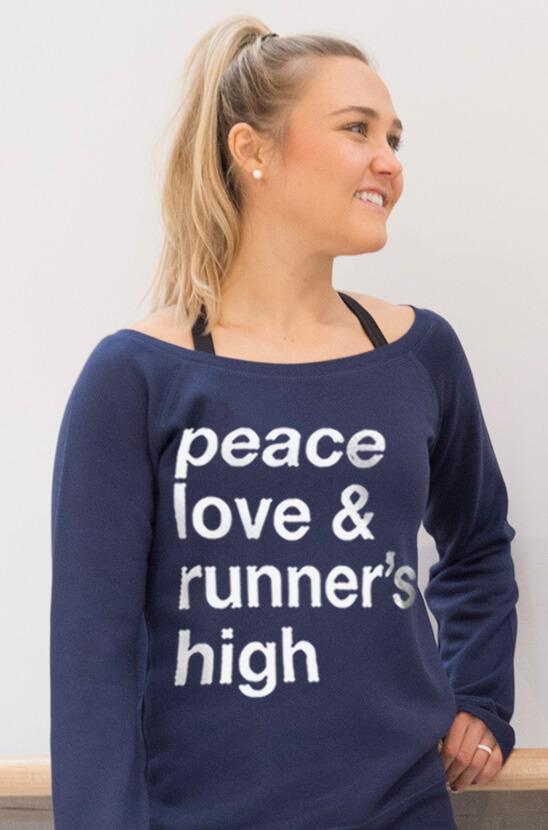 #runlife Runner's High Sweatshirt